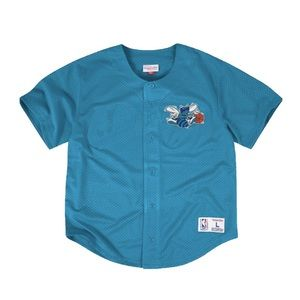 mitchell and ness hornets jersey